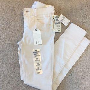 Size 1 techno tuck jolt jeans